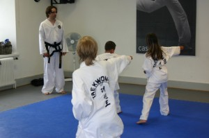 Juniorträning, ITF Taekwon-Do