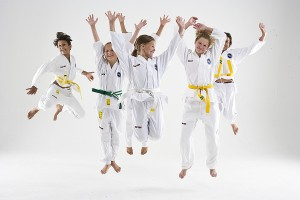 ITF Taekwon-Do miniortränign